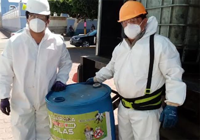Campaña cero pilas permito recolectar más de 400 kilos en Teotlalcingo