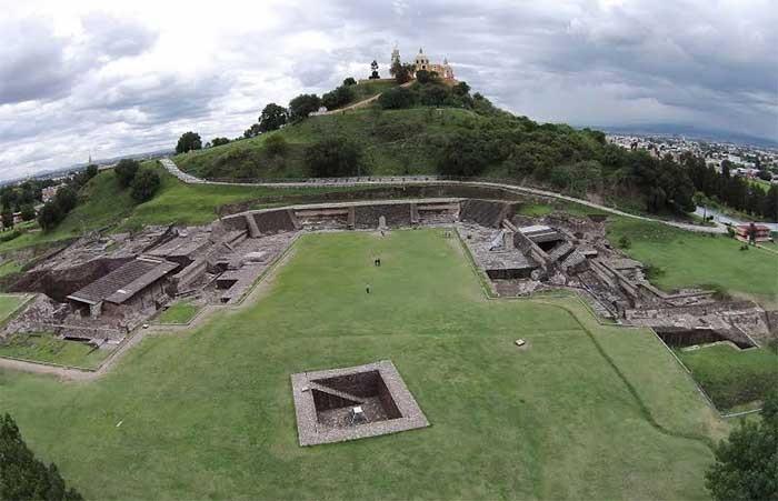 Zona arqueológica de Cholula estará presente en billete de la Lotería Nacional