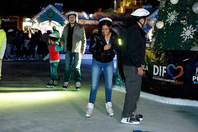 Descartan pista de hielo para Navidad en la ciudad de Puebla