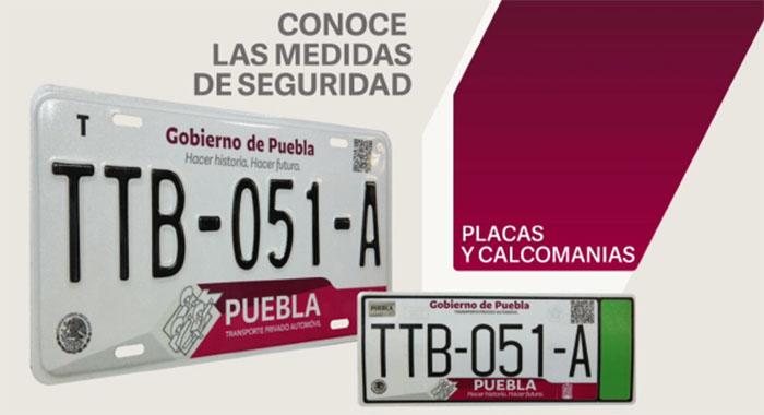 Si cambias placas, te condonarán el pago de la tarjeta de circulación
