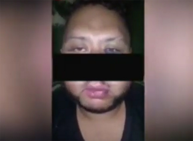 VIDEO Plagian en bar a supuesto delincuente, lo filman confesando y después lo ejecutan