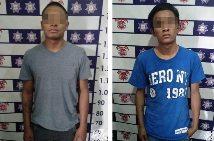 Detienen a plagiarios tras ser reconocidos por sus víctimas en Huejotzingo