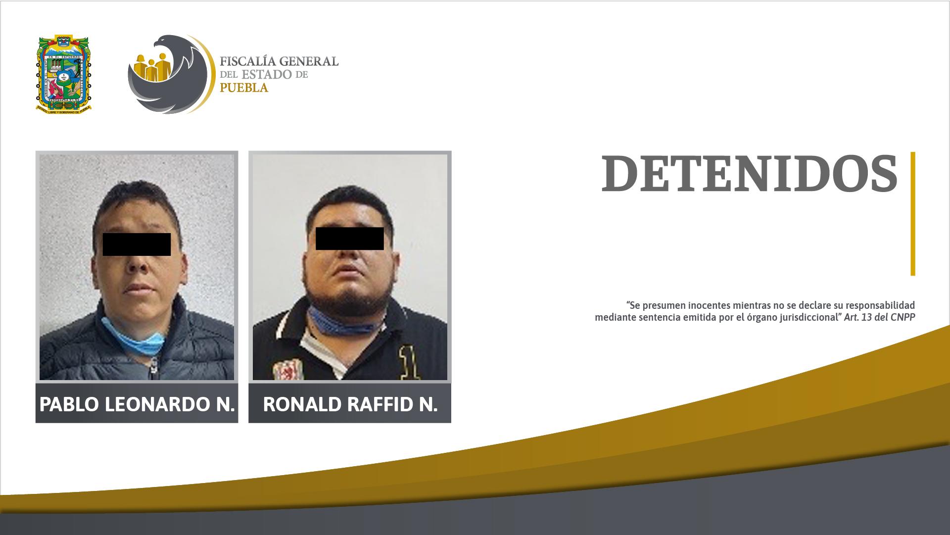 Ellos son los presuntos secuestradores del edil de Zacatlán