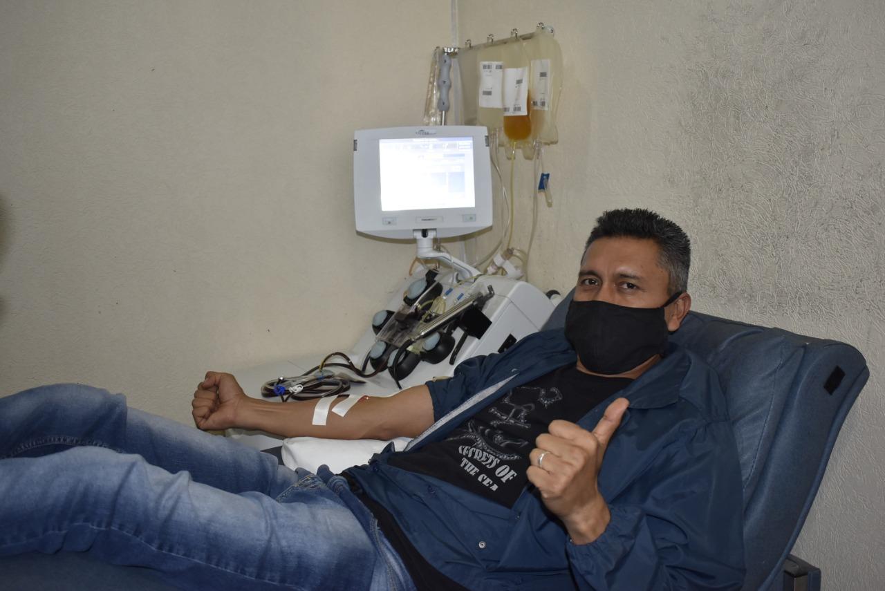 Donan plasma al IMSS La Margarita 29 poblanos recuperados de Covid-19