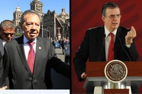 Con Delgado, Ebrard desplazará a AMLO: Muñoz Ledo