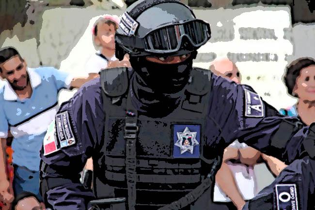 El comandante El Toro protege a criminales de Xochimehuacan y la 46 Poniente