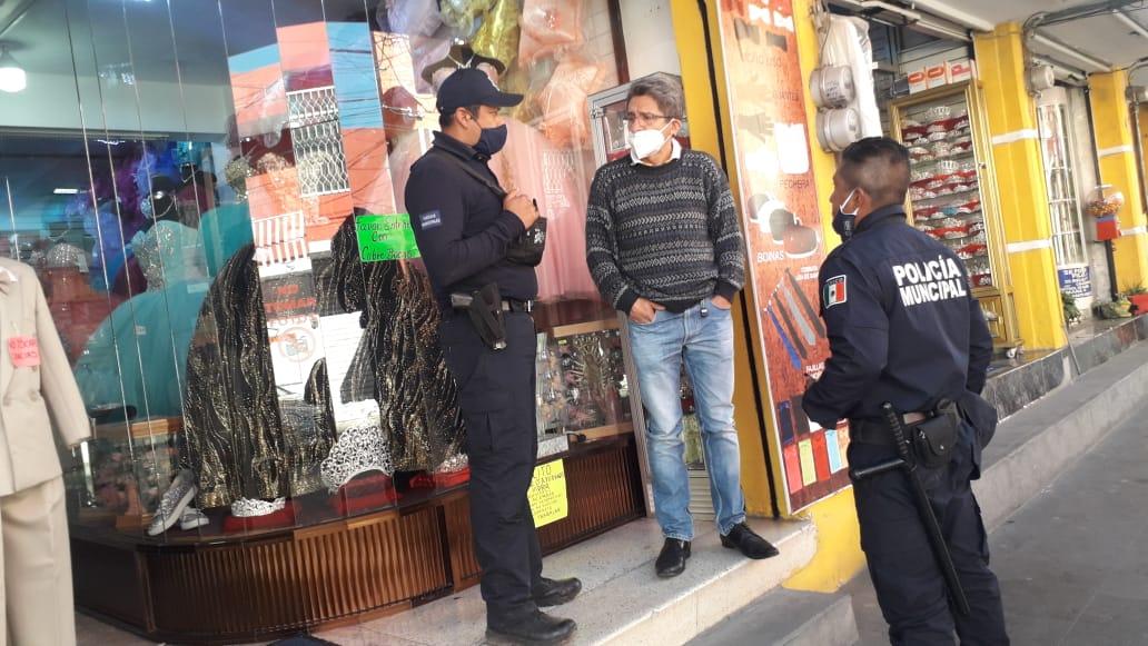 De cara a las fiestas decembrinas en Texmelucan inician operativos de seguridad