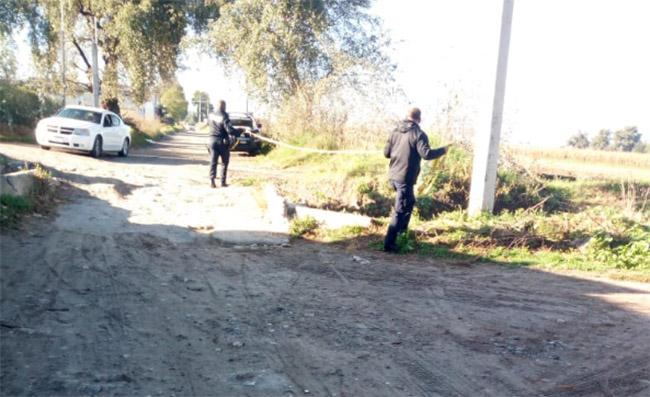 Límites de Texmelucan y Tlaxcala, tiradero de cadáveres
