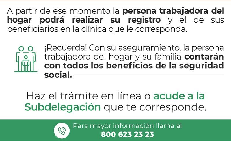 Trabajadoras del hogar en Puebla ya pueden afiliarse al IMSS