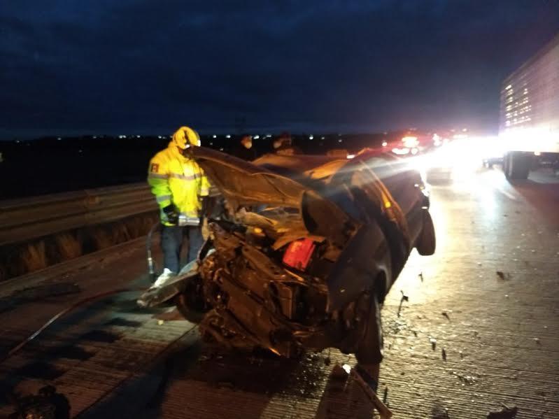 Dos prensados por accidente en Acatzingo; uno murió