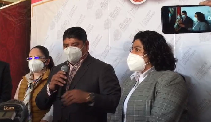 VIDEO Maxil Coyopol ofrece continuidad y gobernabilidad