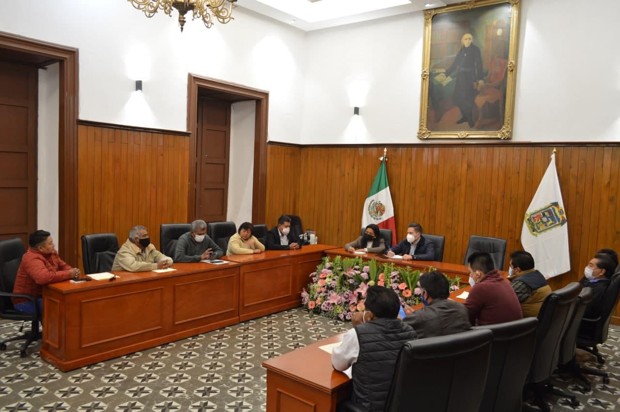 Inicia ayuntamiento reuniones con ediles auxiliares de SPCH