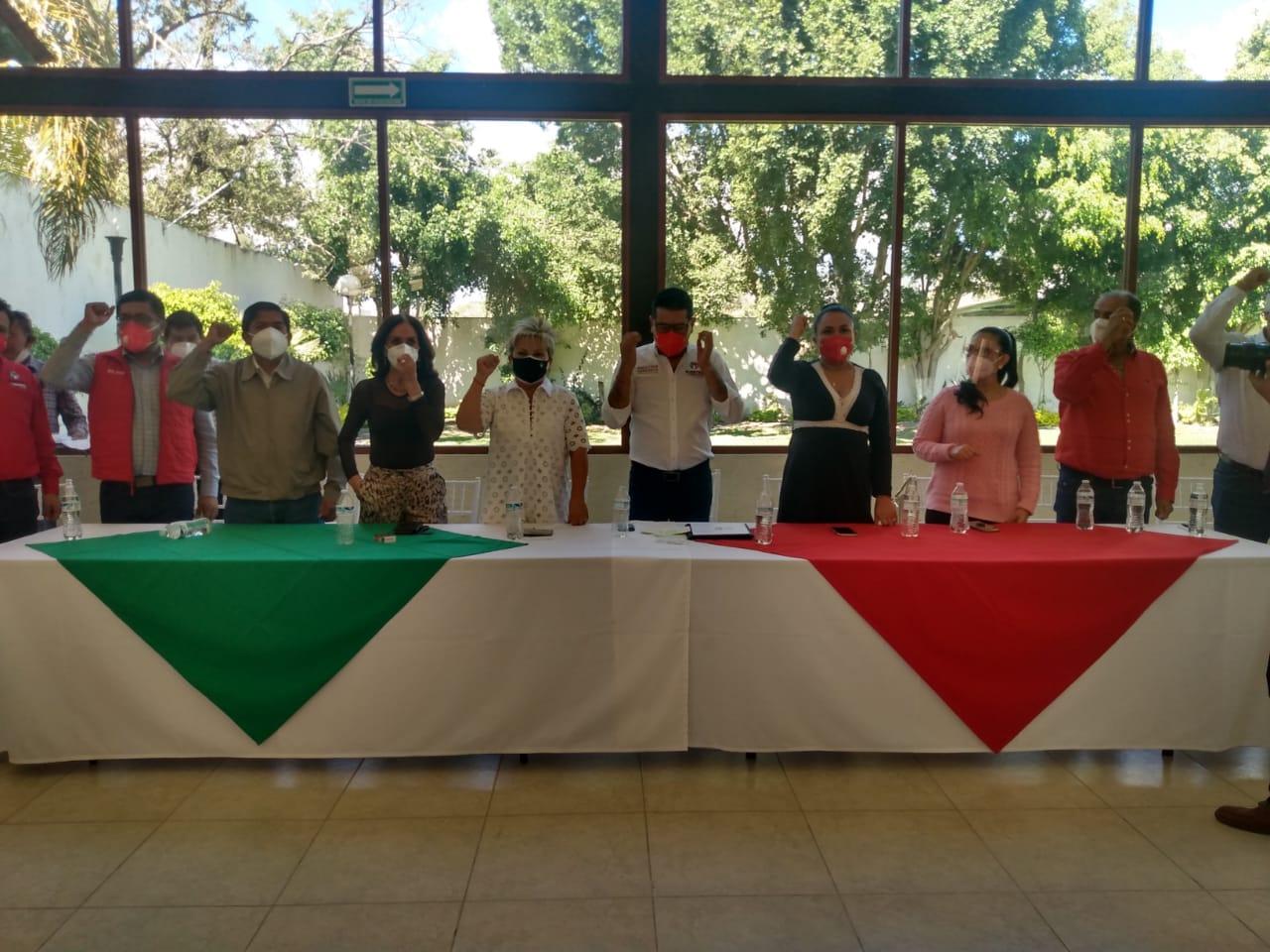 Entre inconformidades, designan a Paulino Ramírez como líder municipal de PRI en Tehuacán