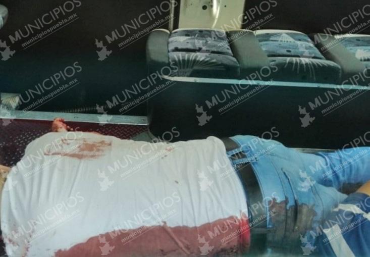 En asalto a transporte matan a profesor en Pantepec