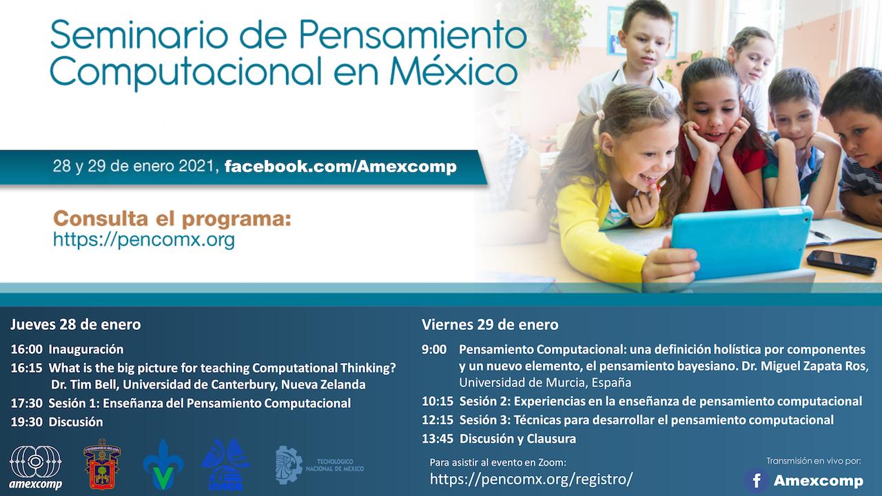 INAOE organiza Primer Seminario de Pensamiento Computacional en México