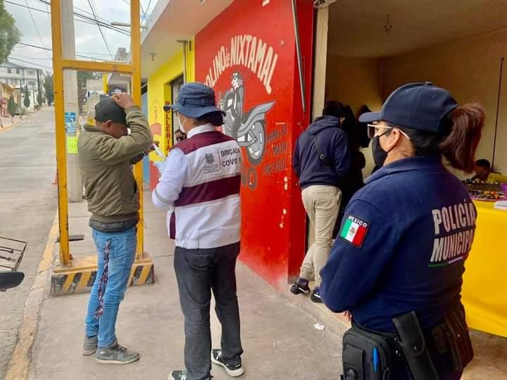 Protección Civil dispersa fiestas y eventos religiosos en Tehuacán
