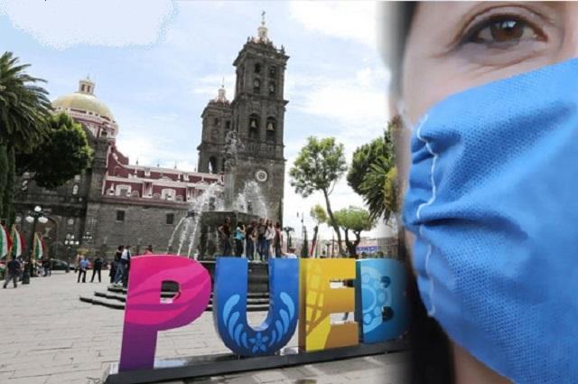 Puebla en el noveno lugar a nivel nacional en contagios acumulados