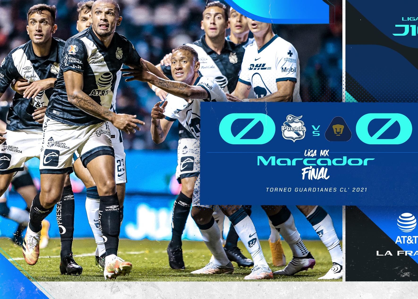 Afición se arriesgó por nada, Puebla empata a cero con Pumas