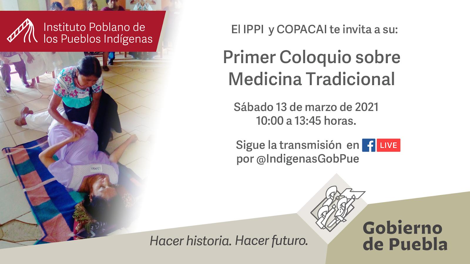 Realizará Instituto de Pueblos Indígenas Coloquio sobre Medicina Tradicional