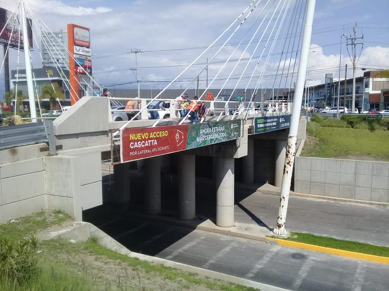 Descarta Infraestructura daños en el Puente de Lomas de Angelópolis