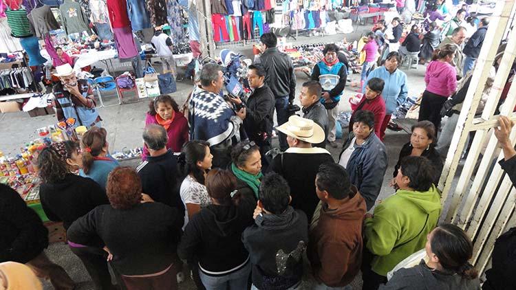 Exigen comerciantes más seguridad en mercados de Tehuacán