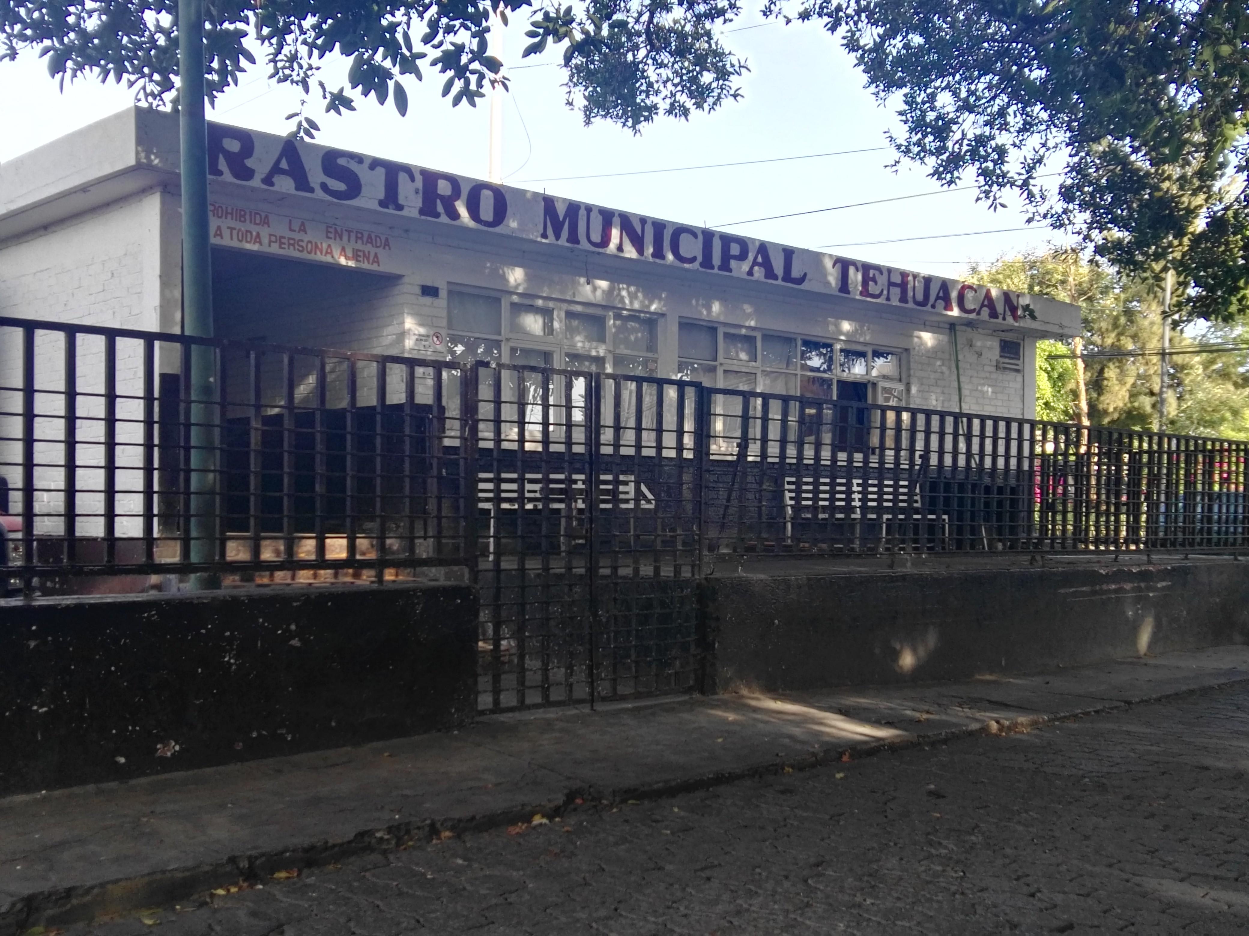 Trasladarán rastro municipal de Tehuacán a San Marcos Necoxtla
