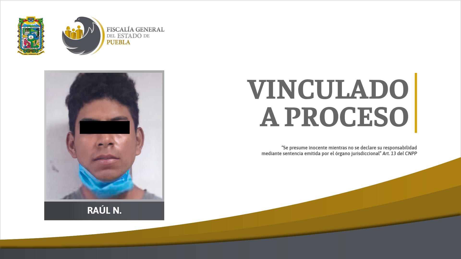 Raúl mató a su ex pareja de un balazo porque la vio con otro en Izúcar