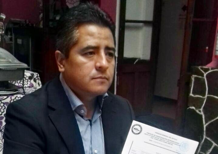 Ray Cuautli levanta la mano por el PAN por la alcaldía de San Andrés