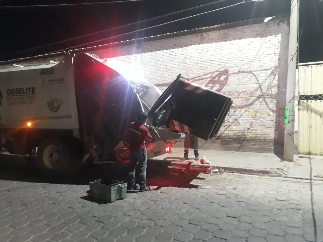 En crisis y números rojos opera el Organismo de Limpia de Tehuacán