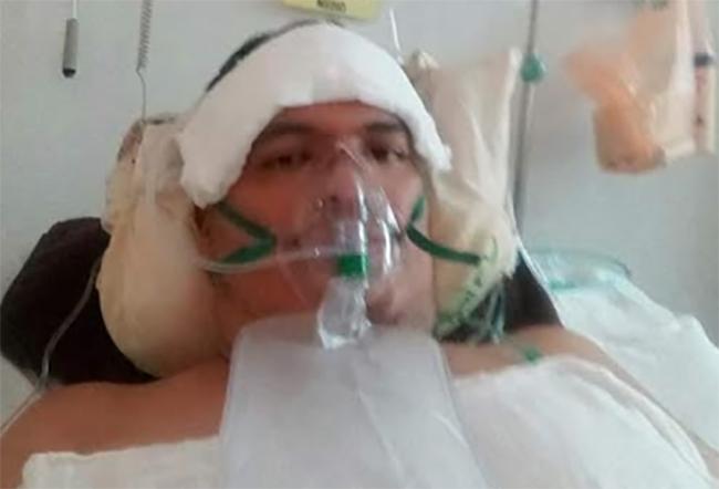 Trabajador del Hospital Covid de Izúcar enferma y envía mensaje