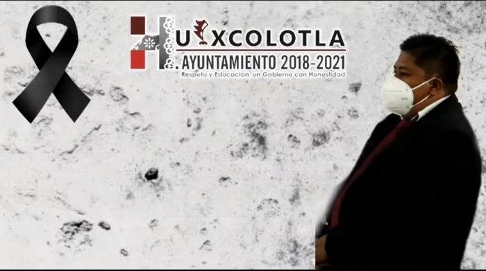 Muere regidor de obras de Huixcolotla