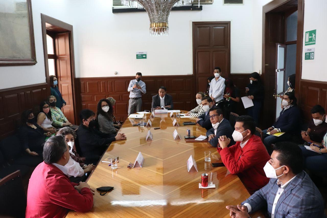 Instalan todas las comisiones de regidores del Cabildo de Puebla