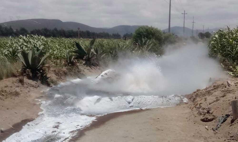 Doce horas después, sellan fuga en gasoducto de Palmar de Bravo