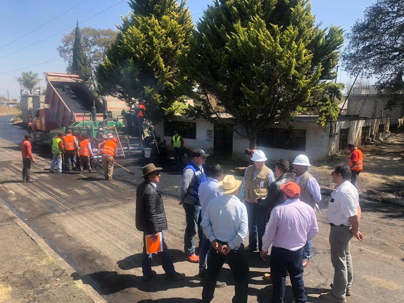 Rehabilitan 277 km de rutas de evacuación del volcán Popocatépetl