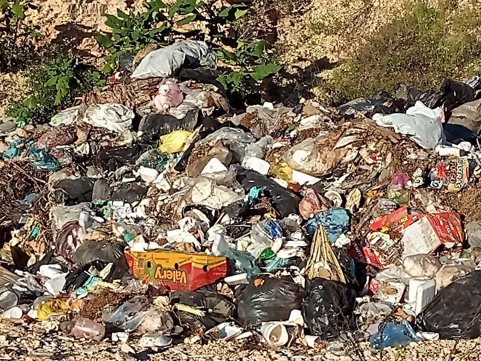 Crean tiradero de basura en Coapan