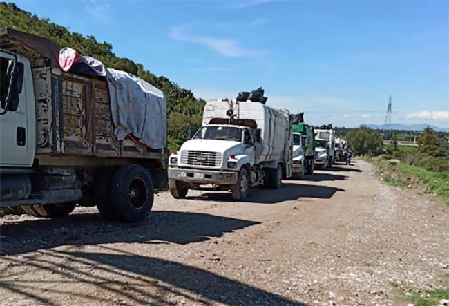 Problemas en relleno sanitario de Tepeaca retrasan recolección de basura