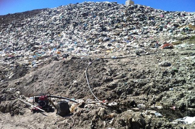 Afirma Huejotzingo que no viola la ley con clausura de basurero