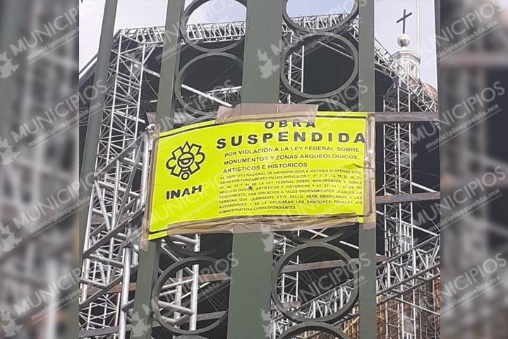 Suspende INAH instalación de réplica de la Capilla Sixtina en Catedral