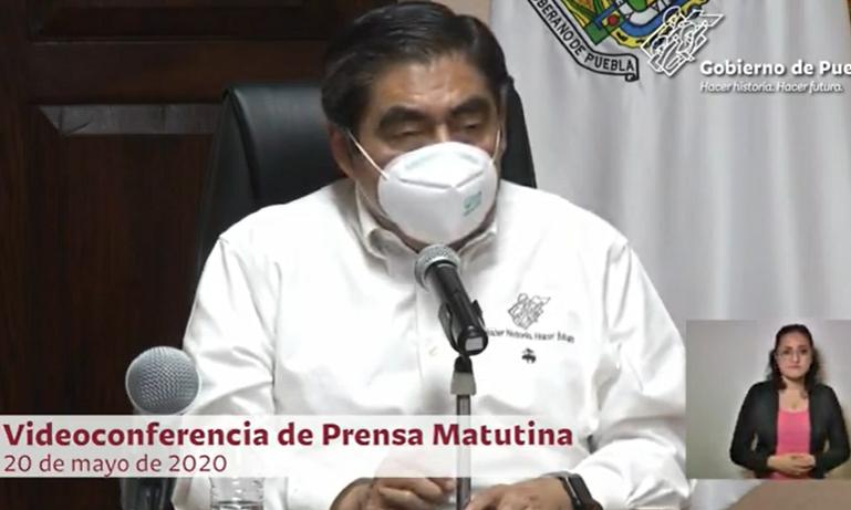 VIDEO Puebla rebasa la curva de los 100 contagios por día; suman mil 652