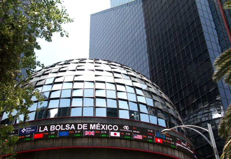 La Bolsa Mexicana de Valores anotó este miércoles una moderada caída