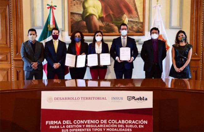 Claudia Rivera agiliza regularización de predios ejidales sin intermediarios