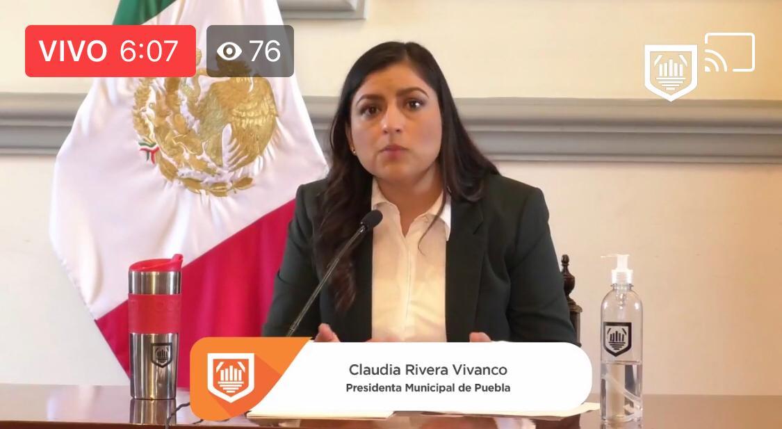 Presenta Rivera programa de Mediación a Distancia para mejora tejido social en Puebla