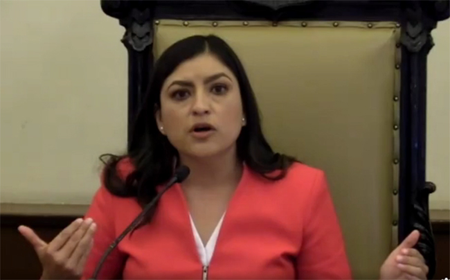 Dejo un municipio fuerte y con finanzas sanas: Claudia Rivera