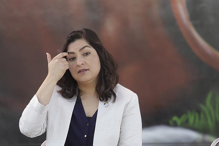 Exigen a Claudia Rivera que no vaya a coloquio en Viena