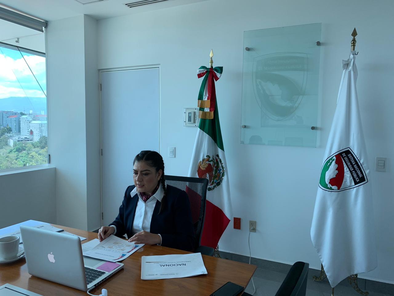 Rivera dialoga con autoridades federales sobre seguridad