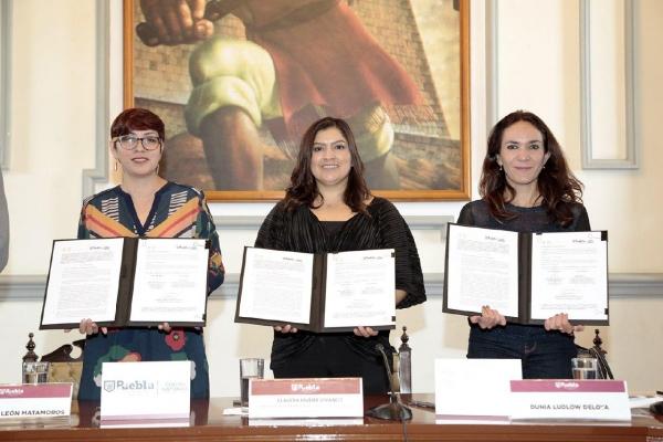 Firman CDMX y Puebla convenio a favor del Centro Histórico