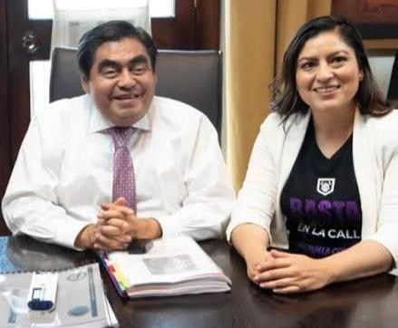 No hay diferencias políticas con Claudia Rivera: Barbosa