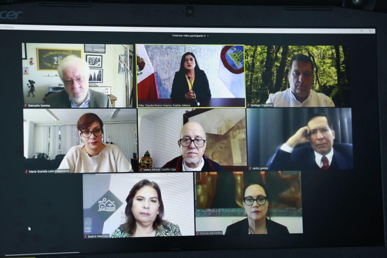 Rivera participa en conferencia virtual Estilos de vida sostenibles organizada por la ONU
