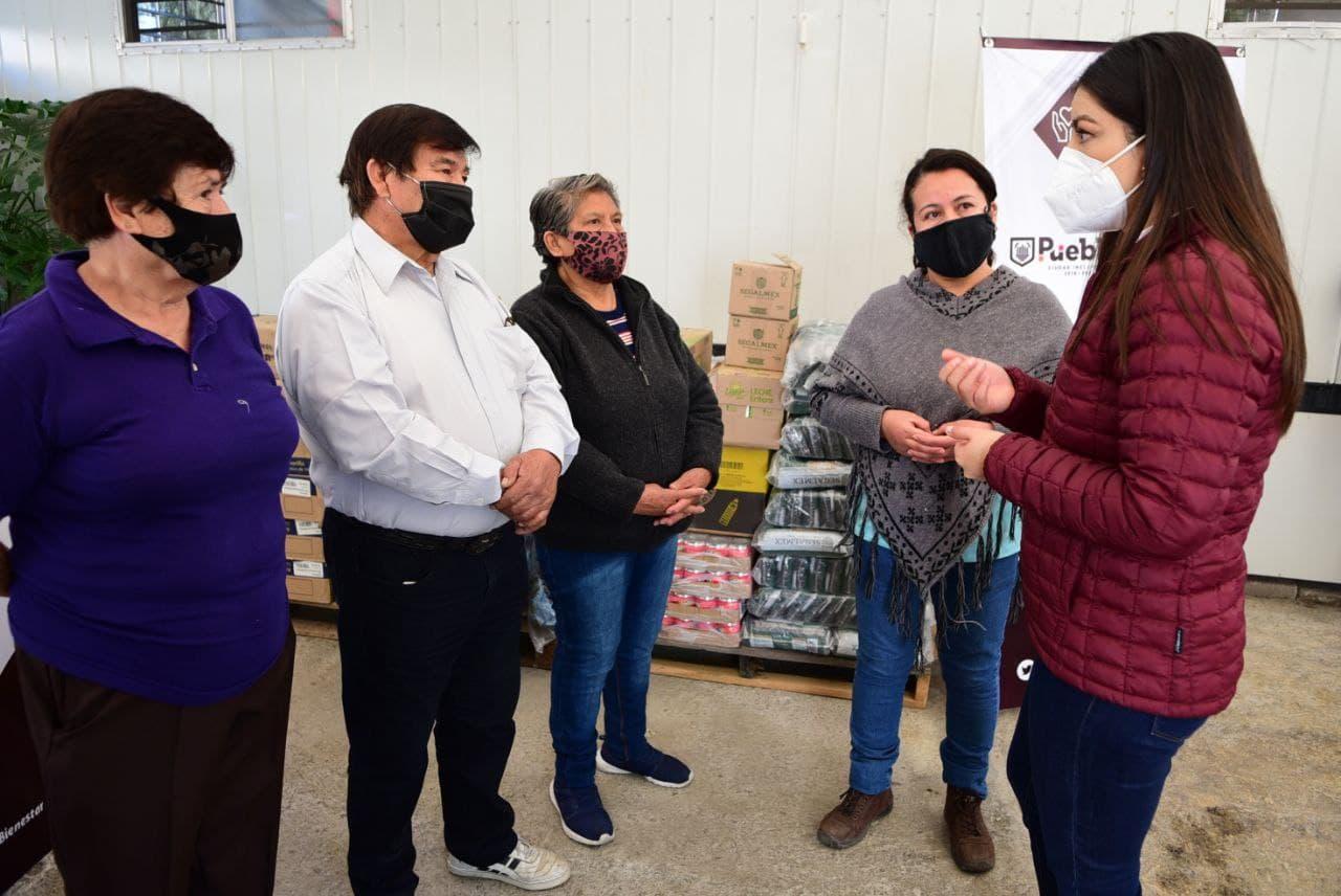 Ayuntamiento de Puebla garantiza suficiencia alimentaria en el municipio