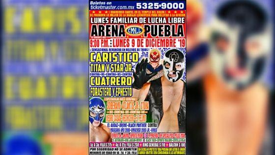 Sin miedo atracan a los luchadores y roban la Arena Puebla